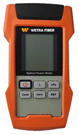Wetra fiber optik power metre AOP100T